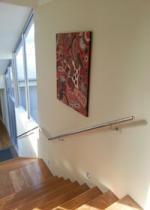 Mirror & Grain Finish Handrails